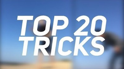 TOP 20 KENDAMA TRICKS OF 2017/2018