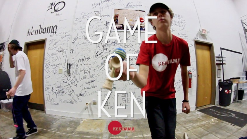 Kendama USA - GAME OF KEN! - Wyatt Bray vs Dylan Westmoreland