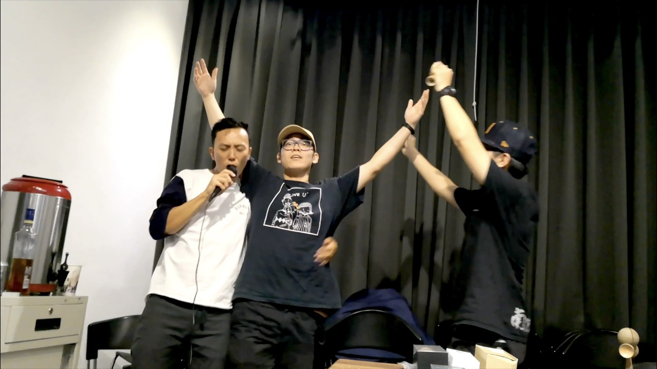 South Party Jam / Free style battle of drinking in Taiwan