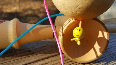 Kendama has a string