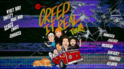 Kendama USA - CREEP IT REAL Tour