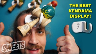 The BEST WAY to display your kendama collection! - The DAMA CLAW: Kendama Wall Hook
