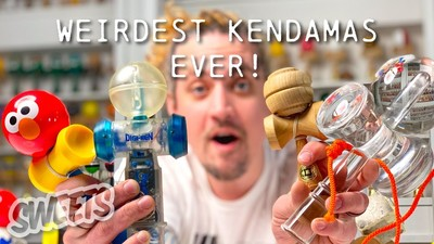 Sweets Kendamas Museum Tours - The Weirdest Kendama Collection