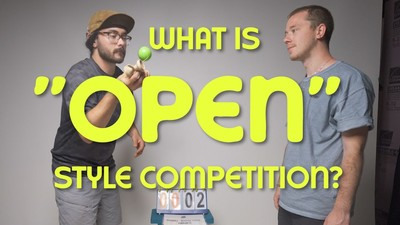 "What is an ""Open"" Style Kendama Competition?"