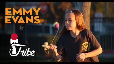 Kendama USA TRIBE Announcement - Emmy Evans