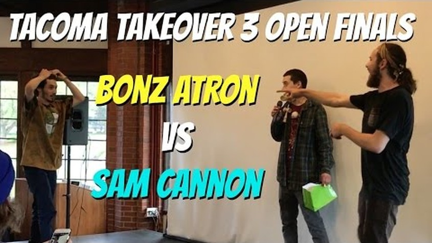 Tacoma Takeover 3 Open Finals - Bonz Atron vs Sam Cannon