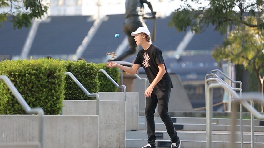 DOWNTOWN KENDAMA DAYS - DYLAN WESTMORELAND